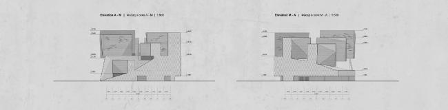 Музейно-выставочный комплекс ГЦСИ. Конкурсный проект ООО «Мел». Материалы предоставлены пресс-службой ГЦСИ.