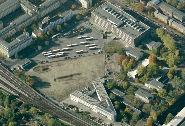 Территория, на которой предстоит проектировать музей в Берлине. Фото: www.mediafire.com