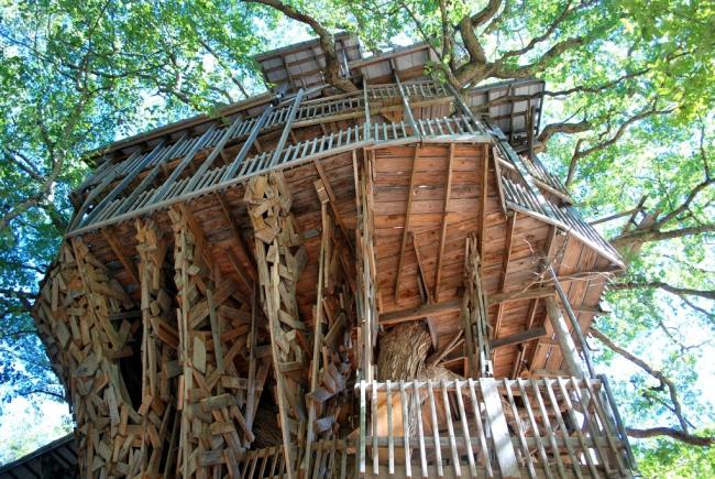 Дом на дереве. Фото: www.gardener.ru