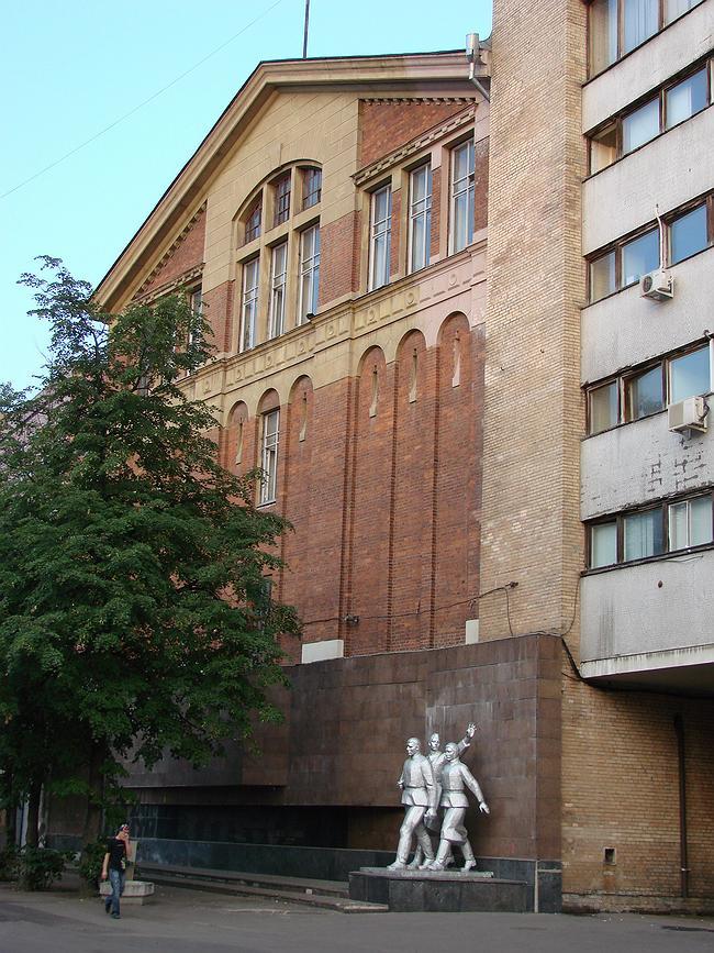 Р. Клейн. Здание заводоуправления