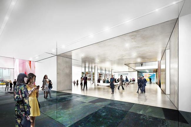 Реконструкция Музея современного искусства MoMA. Вестибюль © Diller Scofidio + Renfro