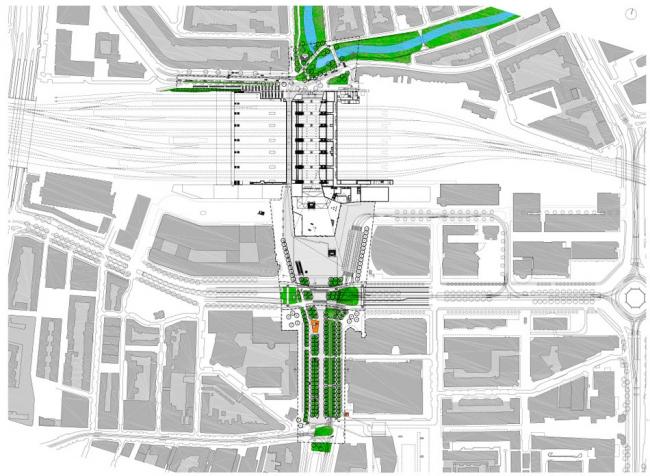 Вокзал Rotterdam Centraal © Team CS