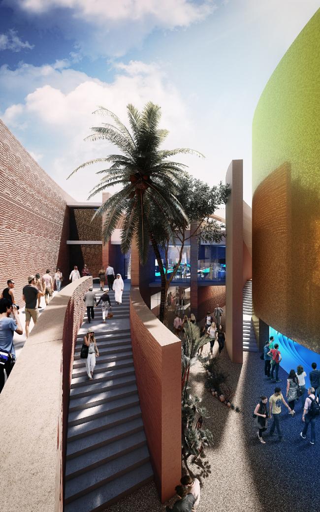 Павильон ОАЭ на Экспо-2015 © Foster + Partners
