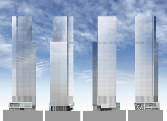 ВТЦ Башня 4 © Maki and Associates