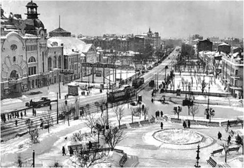 Триумфальная площадь, 1929-й год. Материалы предоставлены организаторами