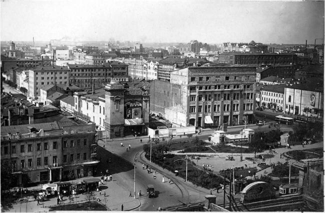 Триумфальная площадь, 1934-й год. Материалы предоставлены организаторами
