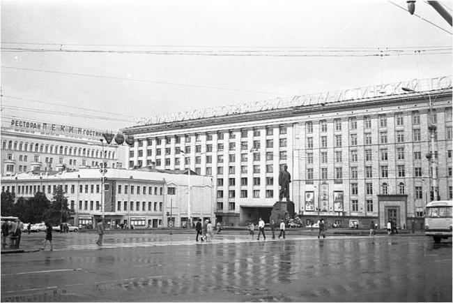Триумфальная площадь, 1973-й год. Материалы предоставлены организаторами