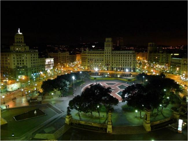 Площадь Каталонии в Барселоне. Материалы предоставлены организаторами