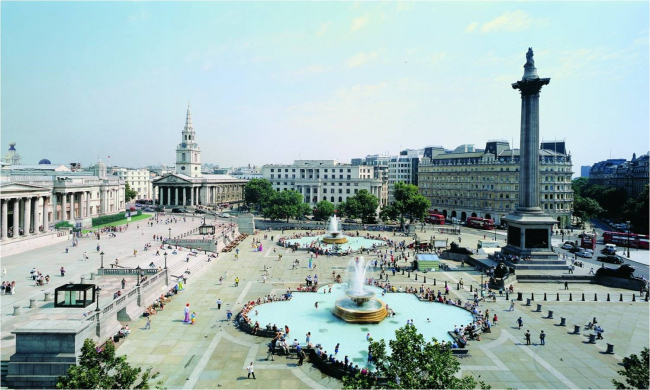 Трафальгарская площадь в Лондоне. Материалы предоставлены организаторами