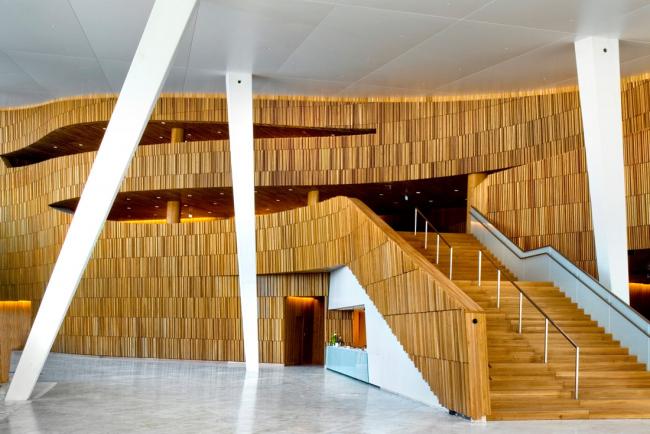 Норвежский национальный театр оперы и балета © Jaro Hollan, Statsbygg