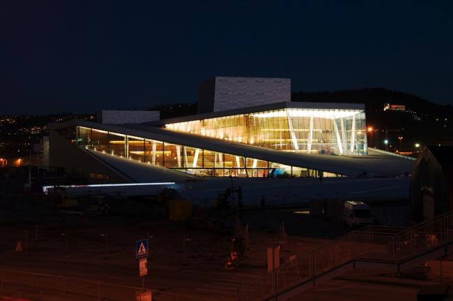Норвежский национальный театр оперы и балета © Snøhetta