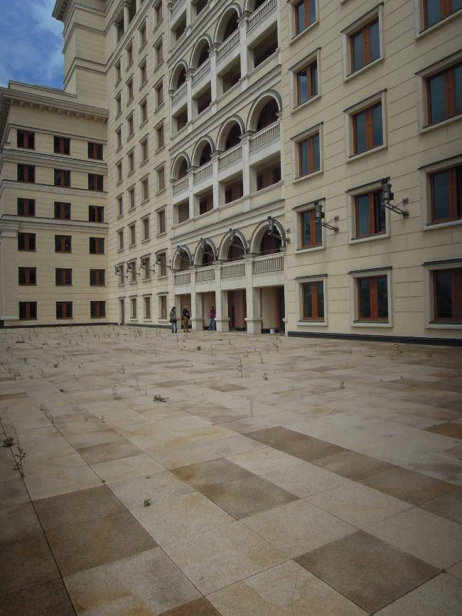 Терраса президентских апартаментов. Существующее положение