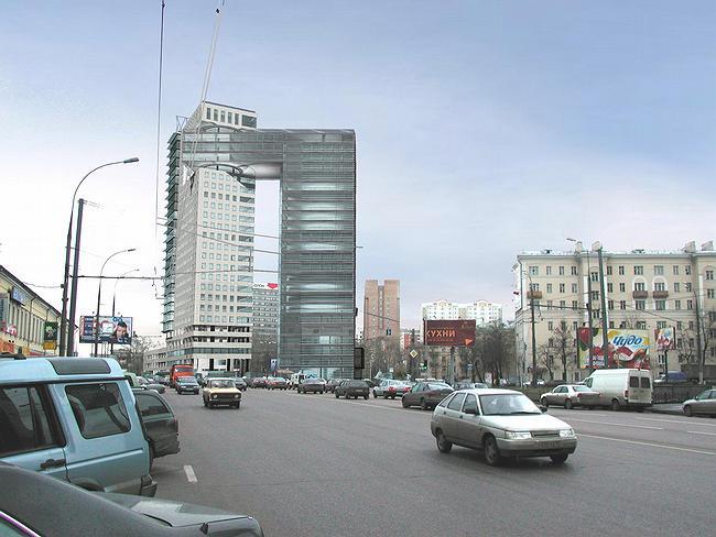 МФК «Золотые ворота». © Мастерская Павла Андреева
