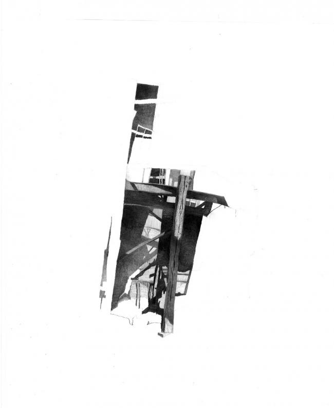 Серия «Ереван» [свет / тень]. Победитель в номинации «Рисунок с натуры», 57 голосов © Рубен Аракелян
