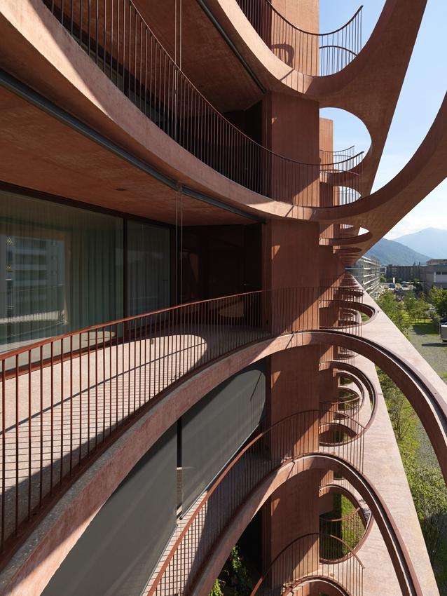 Жилой дом ZugSchleife © Javier Miguel Verme