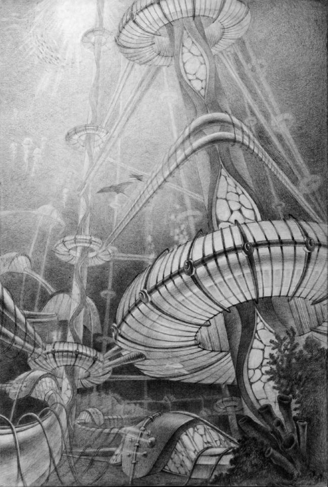 Атлантида (город под водой). 32 голоса © Диана Суханова