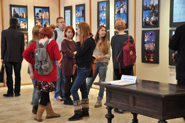 Студенты Академии художеств © Алёна Кузнецова, Архи.ру
