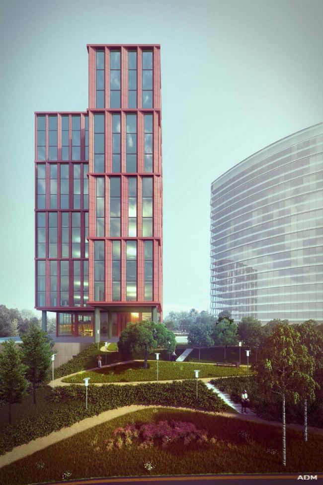 Офисный центр на Нахимовском проспекте © ADM