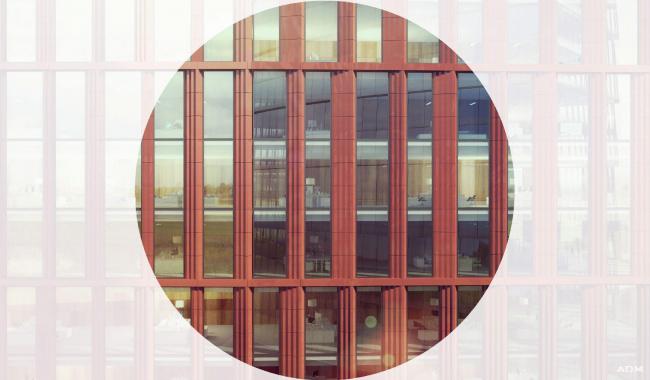 Офисный центр на Нахимовском проспекте. Отделка фасадов © ADM