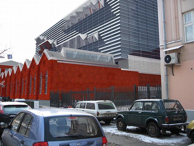 Бизнес-центр «Демидов». Деловой квартал «Красная Роза». Корпус №1. Вид по ул. Тимура Фрунзе
