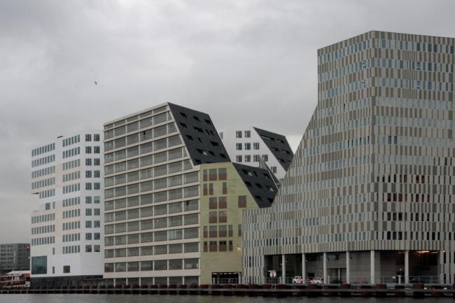 Комплекс IJdock. Архитекторы Zeistra Van Gelderen и другие. Фото © Ольга Тарасова