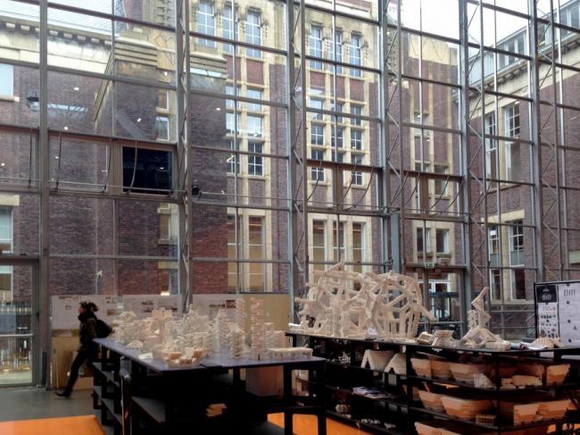 Архитектурный факультет Технического университета Делфта. Фото © Ольга Тарасова