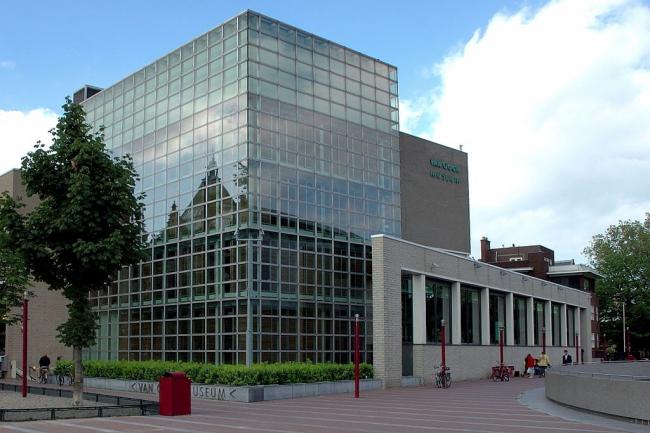 Музей Ван Гога. Корпус Геррита Ритвелда. Фото Warrox via Wikimedia Commons