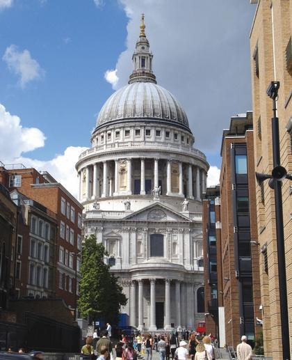 Собор Святого Павла в Лондоне. Фото 2007 г.