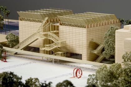Лос-анджелесский окружной музей искусства (LACMA) - реконструкция. Макет