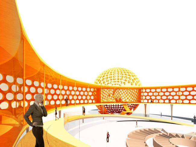 Шоу-рум «Чак-чак» © Архитектурная мастерская Тотана Кузембаева