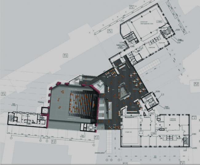 Театрально-культурный комплекс «Новая сцена Александринского театра» © «Архитектурное бюро «Земцов, Кондиайн и партнёры»
