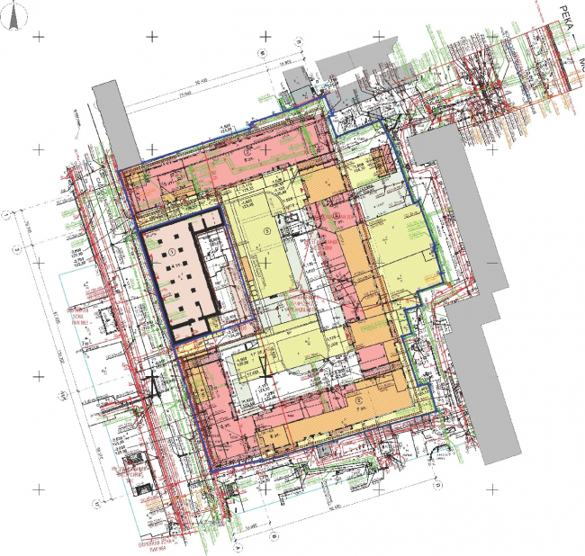 """Wine House"" residential complex. Master plan. TPO Reserve, SPEECH"