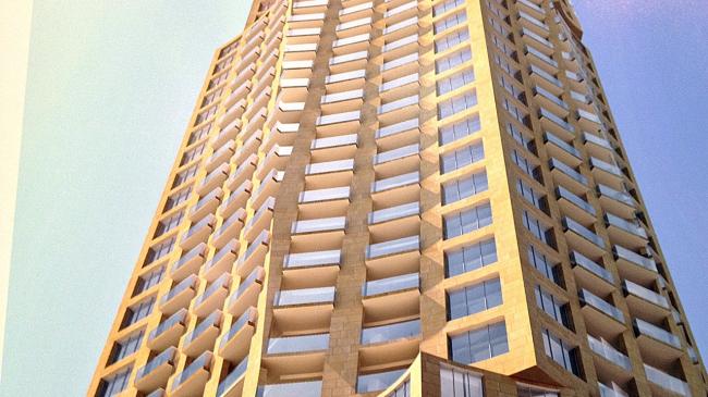 Башня на Александерплац © Gehry Partners LLP