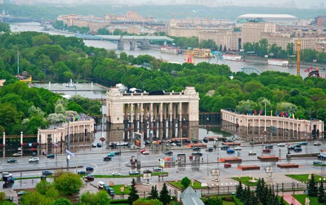 Стратегия и мастерплан реконструкции ЦПКиО им. Горького © LDA Design