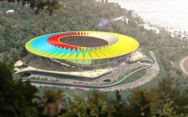 Национальный футбольный стадион Венесуэлы © RSH+P