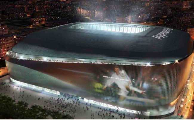 Стадион Сантьяго Бернабеу – реконструкция © gmp / L35 Arquitectos / Ribas & Ribas Arquitectos