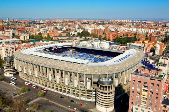 Стадион Сантьяго Бернабеу сегодня © Flickr CC User Madrid2011jmj