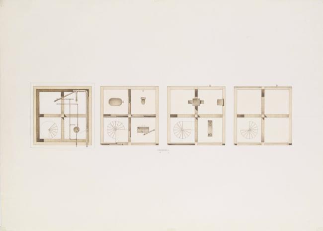 Вертикальный стеклянный дом © Atelier FCJZ