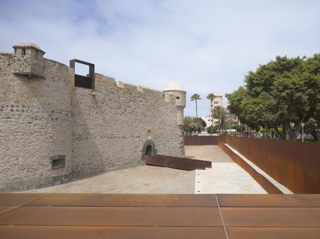 Музей Кастильо-де-ла-Лус – новое крыло © Roland Halbe - www.rolandhalbe.eu