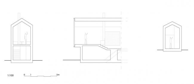 Горная хижина Split View © Reiulf Ramstad Arkitekter