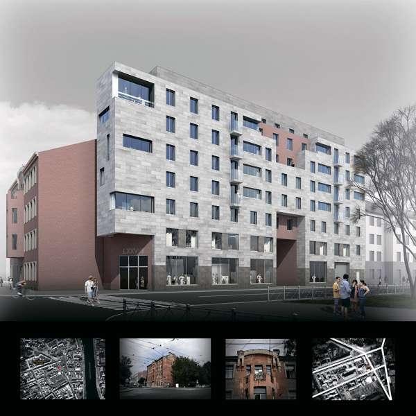 Проект ООО «Архитектурная мастерская Столярчука». Изображение: www.arcunion.ru