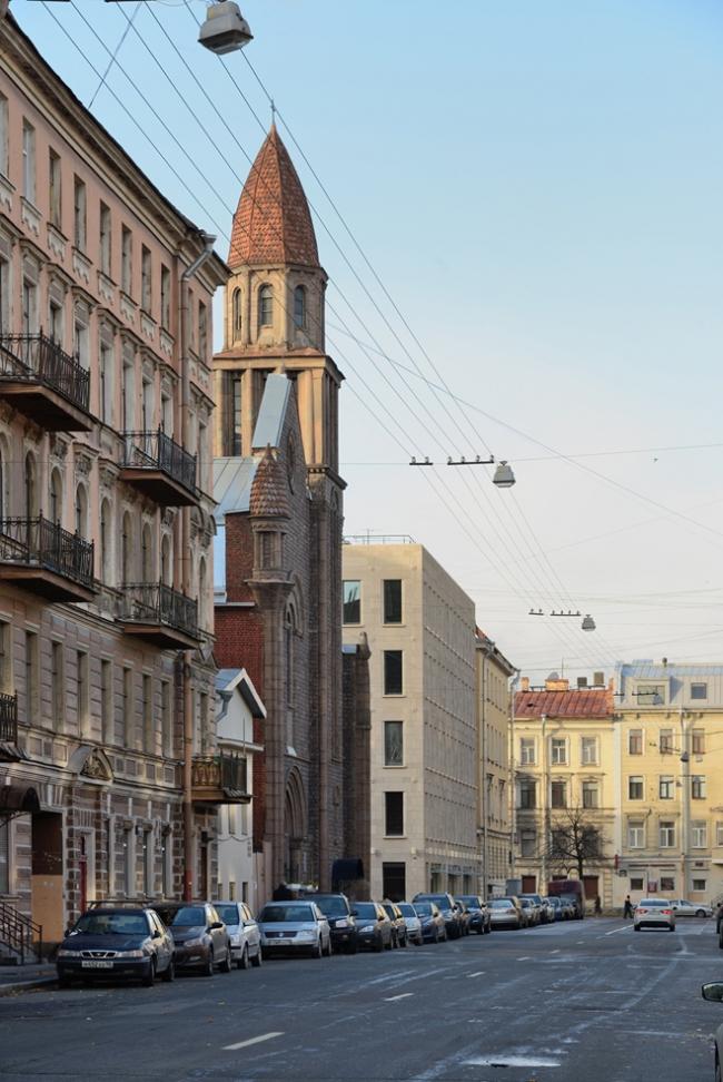 Жилой дом в Ковенском переулке © «Евгений Герасимов и партнеры»