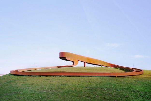 Павильон Elastic Perspective © Sander Meisner