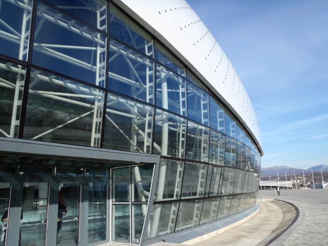 Большой ледовый дворец в Сочи