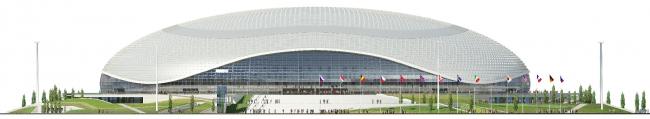Большой ледовый дворец в Сочи © НПО «Мостовик»