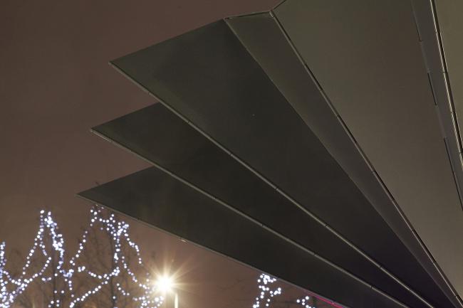 Складной киоск © Make Architects