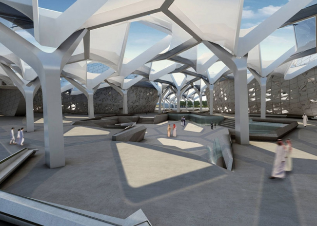 Центр изучения и исследования нефти Короля Абдаллы © Zaha Hadid Architects