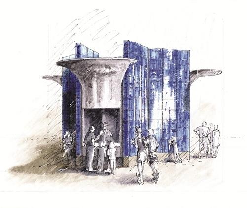 Проект бюро Эрика Пэрри. Изображение с сайта architectsjournal.co.uk