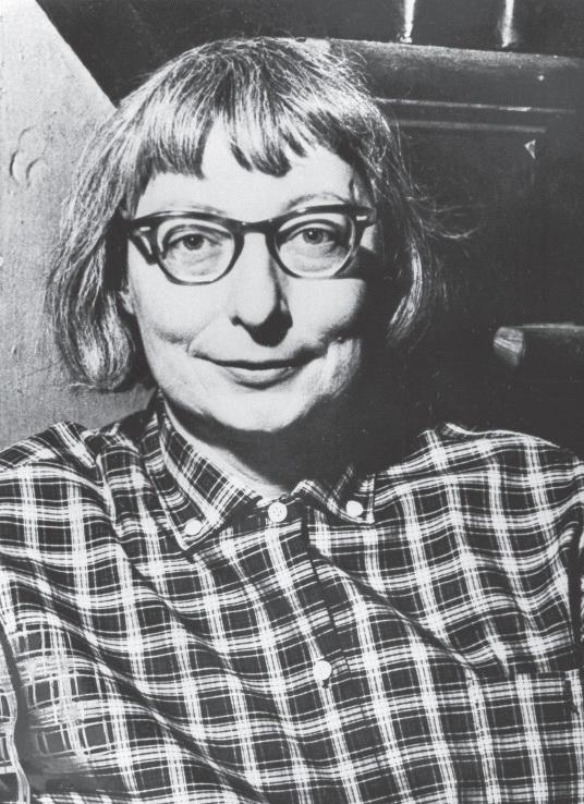 Джейн Джекобс в 1962-м, через год после выхода «Смерти и жизни больших американских городов». Изображение из книги «Городской конструктор: Идеи и города»