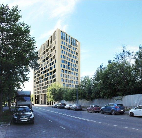 Многофункциональное офисное здание на ул. Смольная, вл. 44 © SPEECH